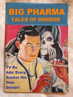 Tales of Big Pharma Horror. The image is CC from Mike Licht.